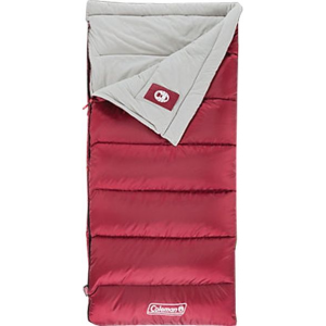 photo: Coleman Aspen Meadows 50 warm weather synthetic sleeping bag