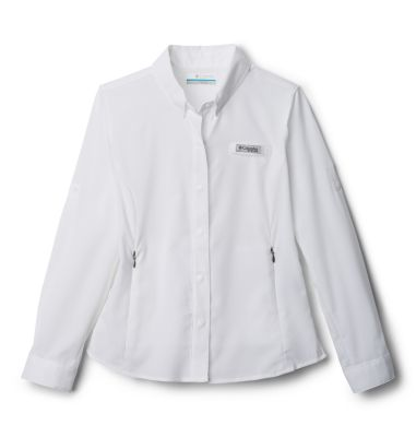 photo: Columbia Girls' Tamiami Long Sleeve Shirt hiking shirt