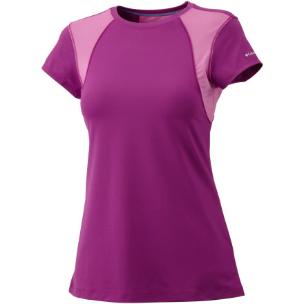photo: Columbia Anytime Active Short Sleeve Top short sleeve performance top