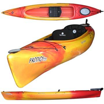 photo: Perception Prodigy 13.5 With Rudder recreational kayak