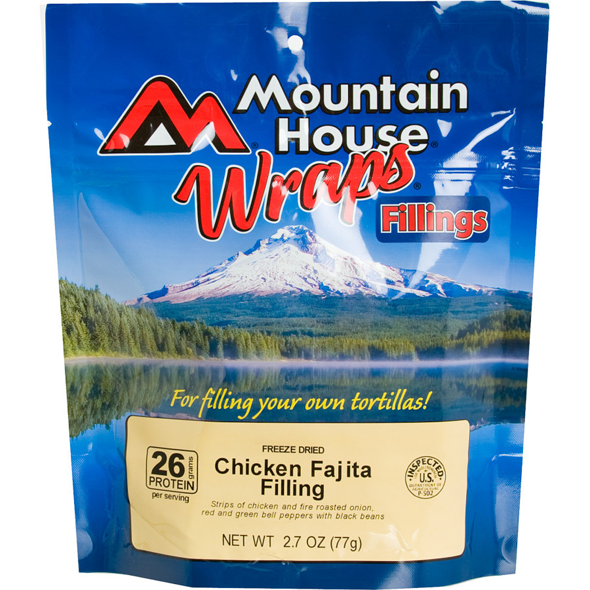 Mountain House Chicken Fajita Wrap