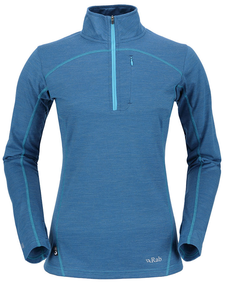 Rab MeCo 190 Long Sleeve Zip Tee