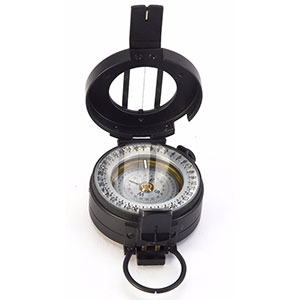 photo of a Pyser Optics handheld compass