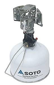photo: Soto Mantleless Lantern fuel-burning lantern