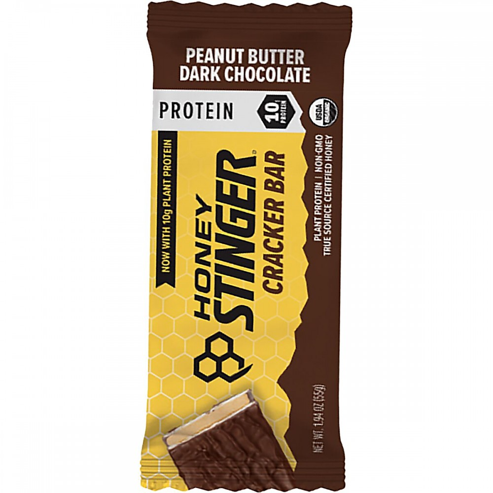 photo: Honey Stinger Cracker Bar with Protein nutrition bar
