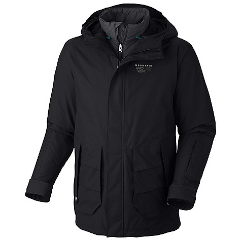photo: Mountain Hardwear Gondie Trifecta Jacket component (3-in-1) jacket