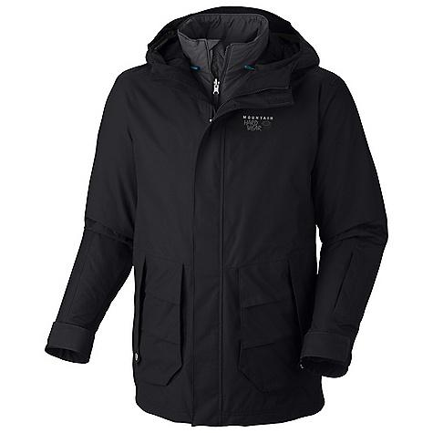 photo: Mountain Hardwear Gondie Trifecta Jacket component (3-in-1) jacket