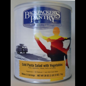 Backpacker's Pantry Cold Pasta Salad with Vegetables