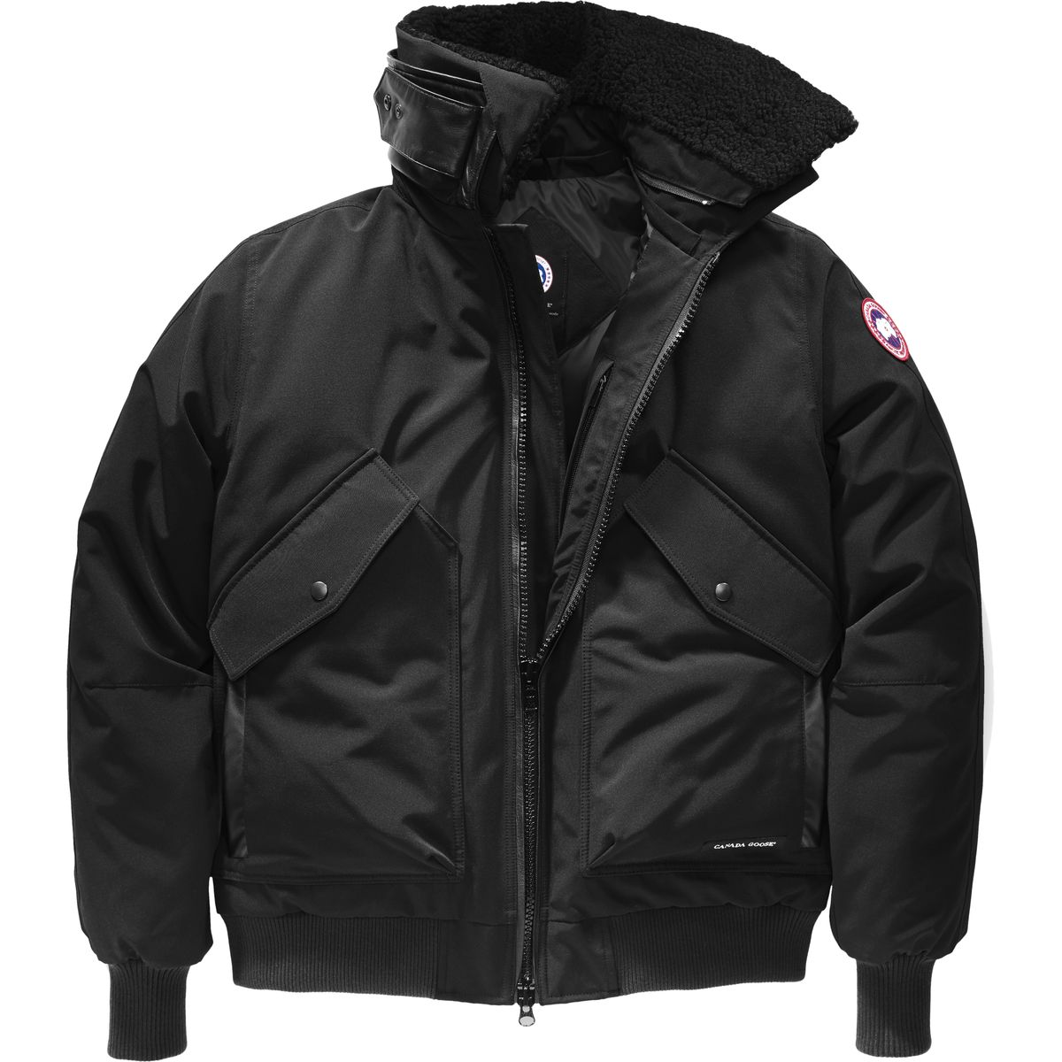 photo: Canada Goose Bromely Bomber down insulated jacket