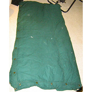 photo: Woods Canada Mount Blanc Supreme cold weather down sleeping bag