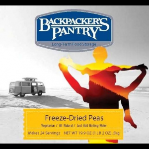 Backpacker's Pantry Freeze Dried Peas