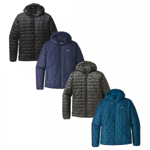 photo: Patagonia Men's Nano Puff Hoody synthetic insulated jacket