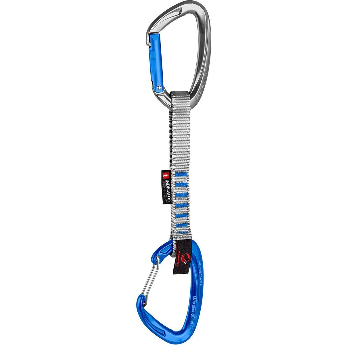 photo: Mammut Crag Indicator Wire Express Set carabiner/quickdraw