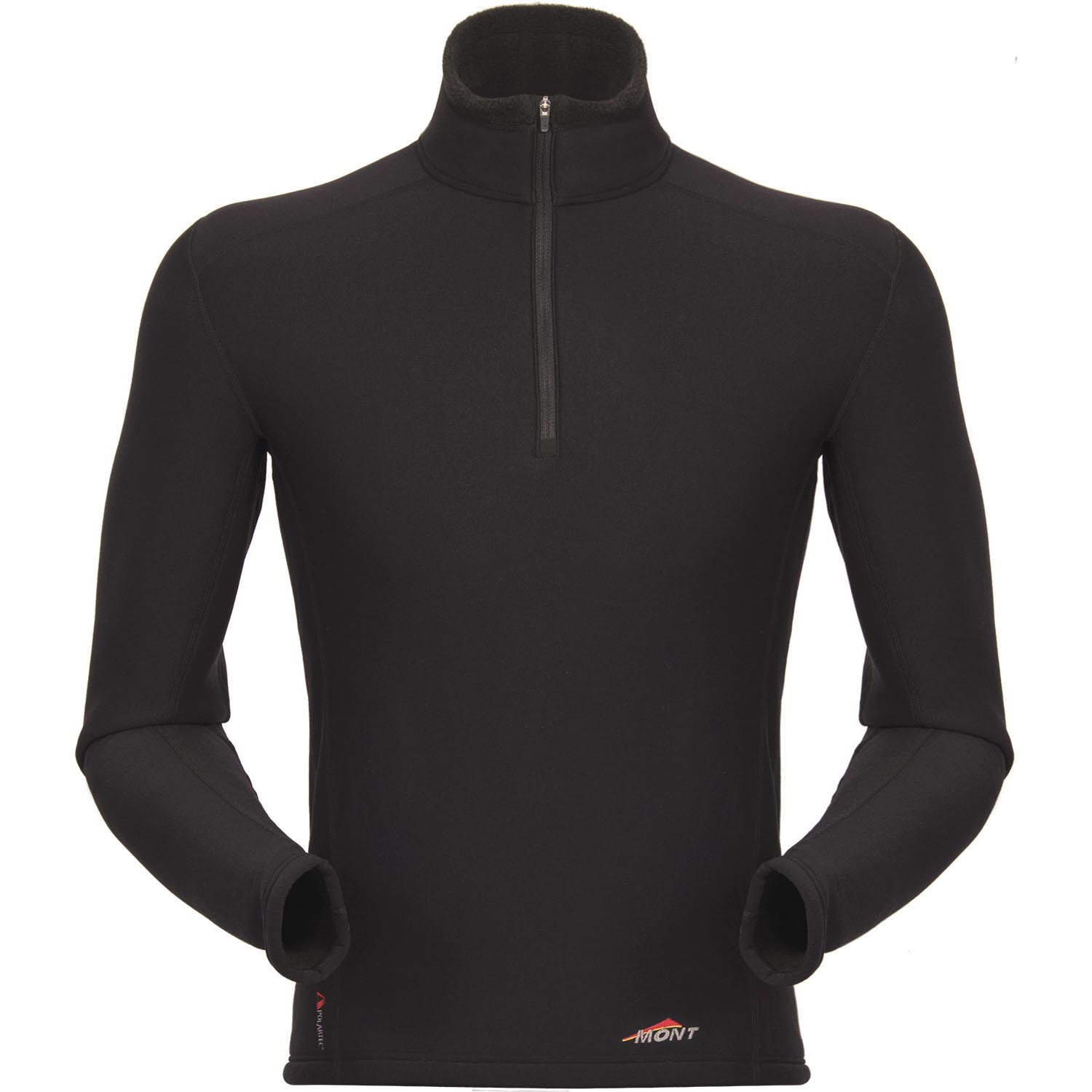 photo: Mont Slinx LS Zip base layer top