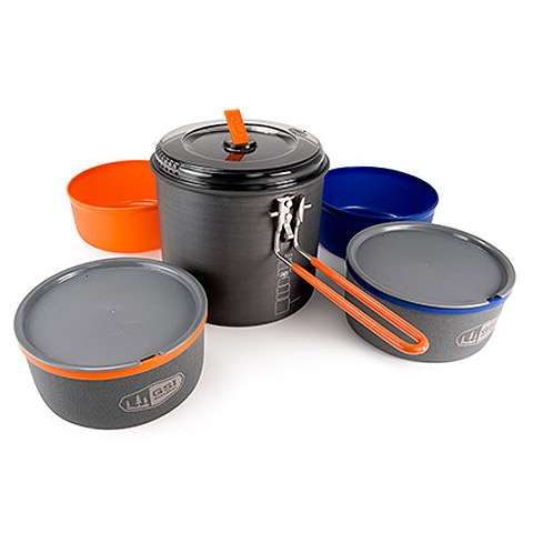 GSI Outdoors Ultralight Dualist Cook System