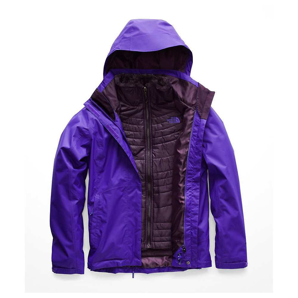 photo: The North Face Mossbud Swirl Triclimate Jacket component (3-in-1) jacket