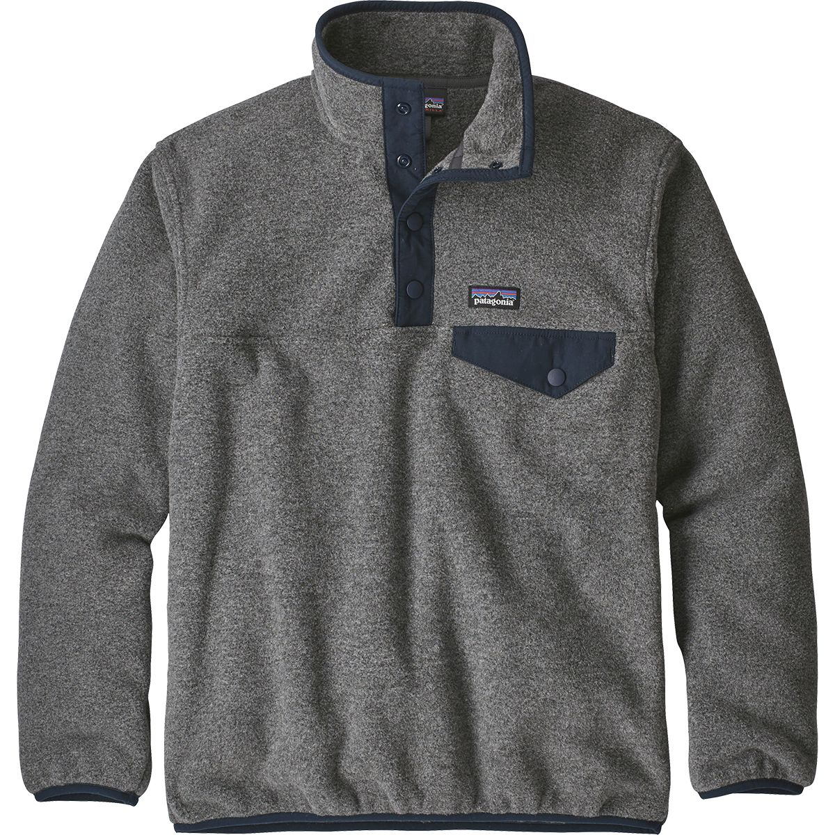photo: Patagonia Kids' Lightweight Synchilla Snap-T Pullover fleece jacket