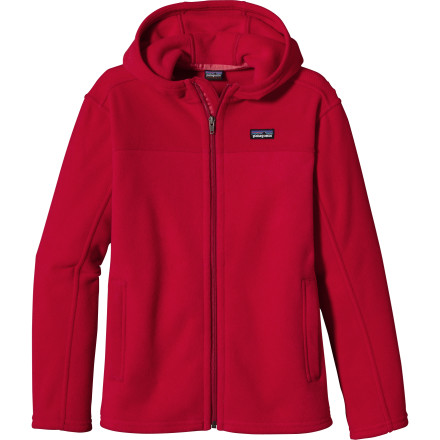 photo: Patagonia Simple Synchilla Hoody fleece jacket