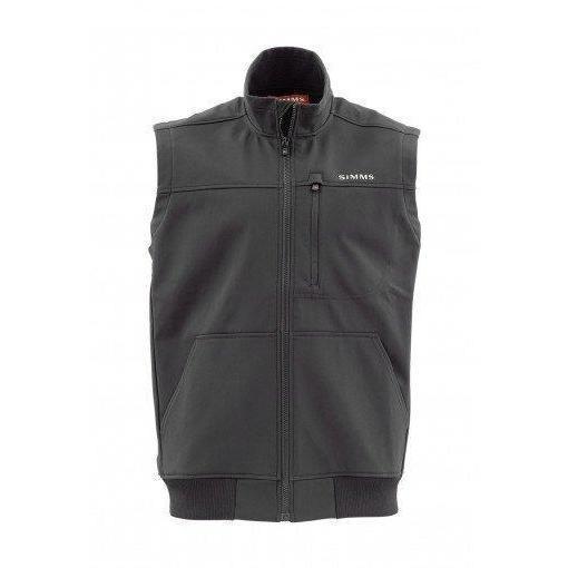 photo: Simms Rogue Fleece Vest fleece vest