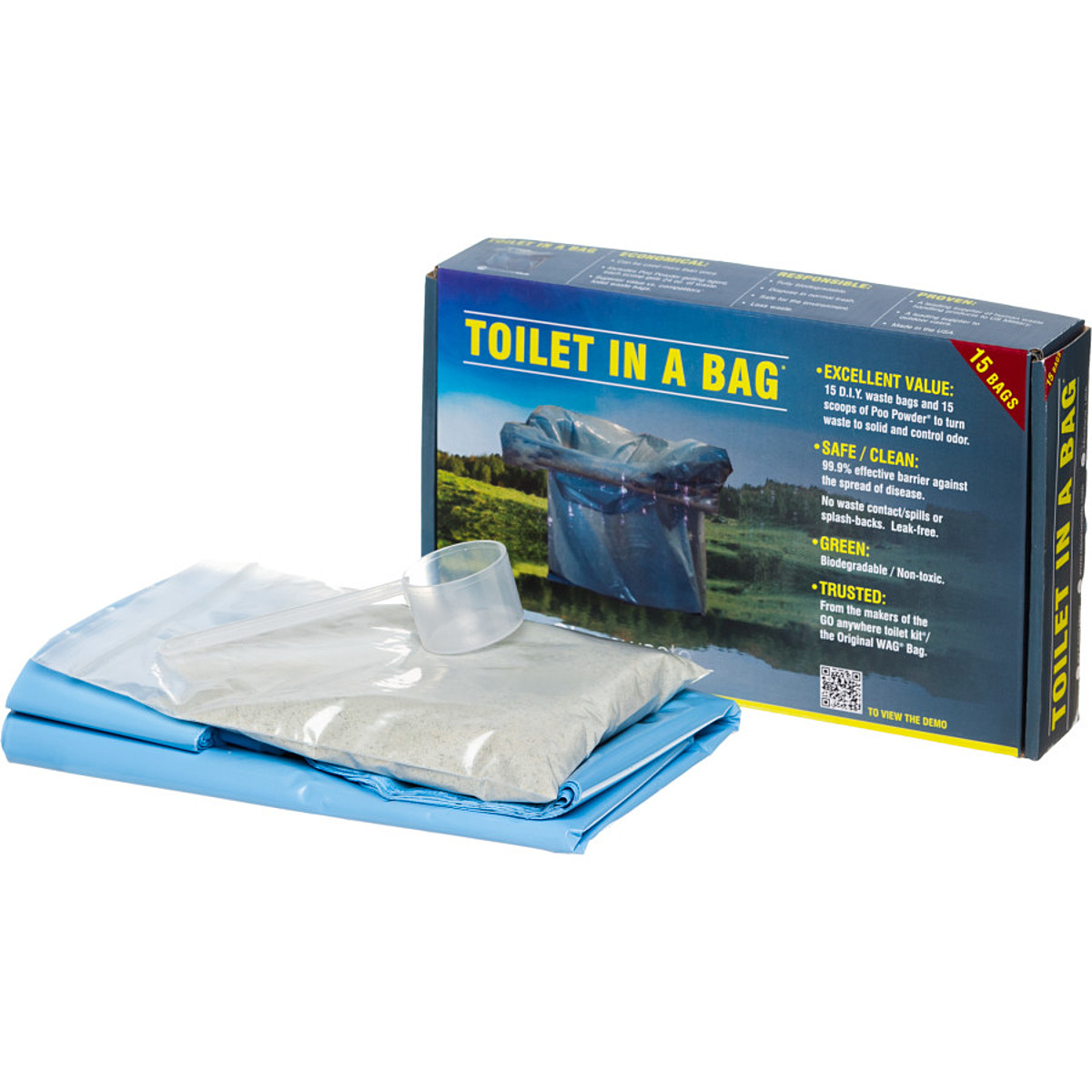 Cleanwaste Toilet in a Bag