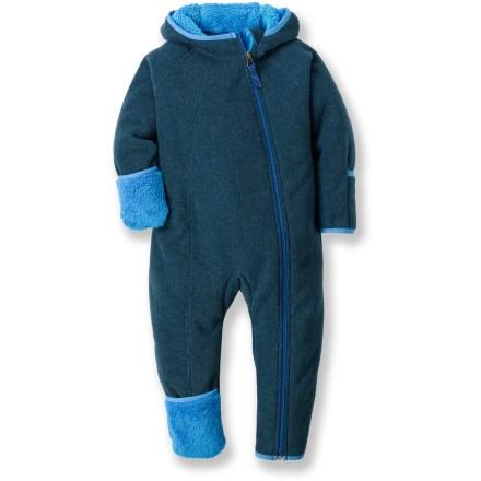REI Bear Hug Fleece Infant Suit