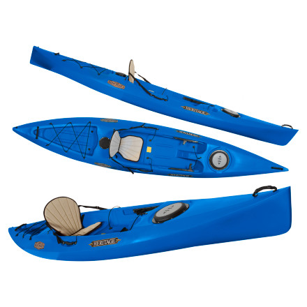 photo: Heritage Kayaks Redfish 14 fishing kayak