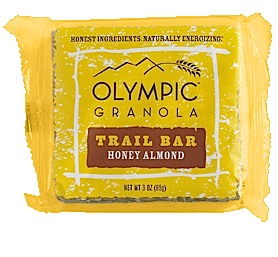 photo: Olympia Granola Honey Almond Trail Bar bar