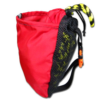 photo: North Water The 4-Bailer throw bag/rope