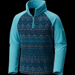 Columbia Glacial II Fleece Print Half Zip