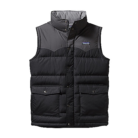 photo: Patagonia Slingshot Down Vest down insulated vest