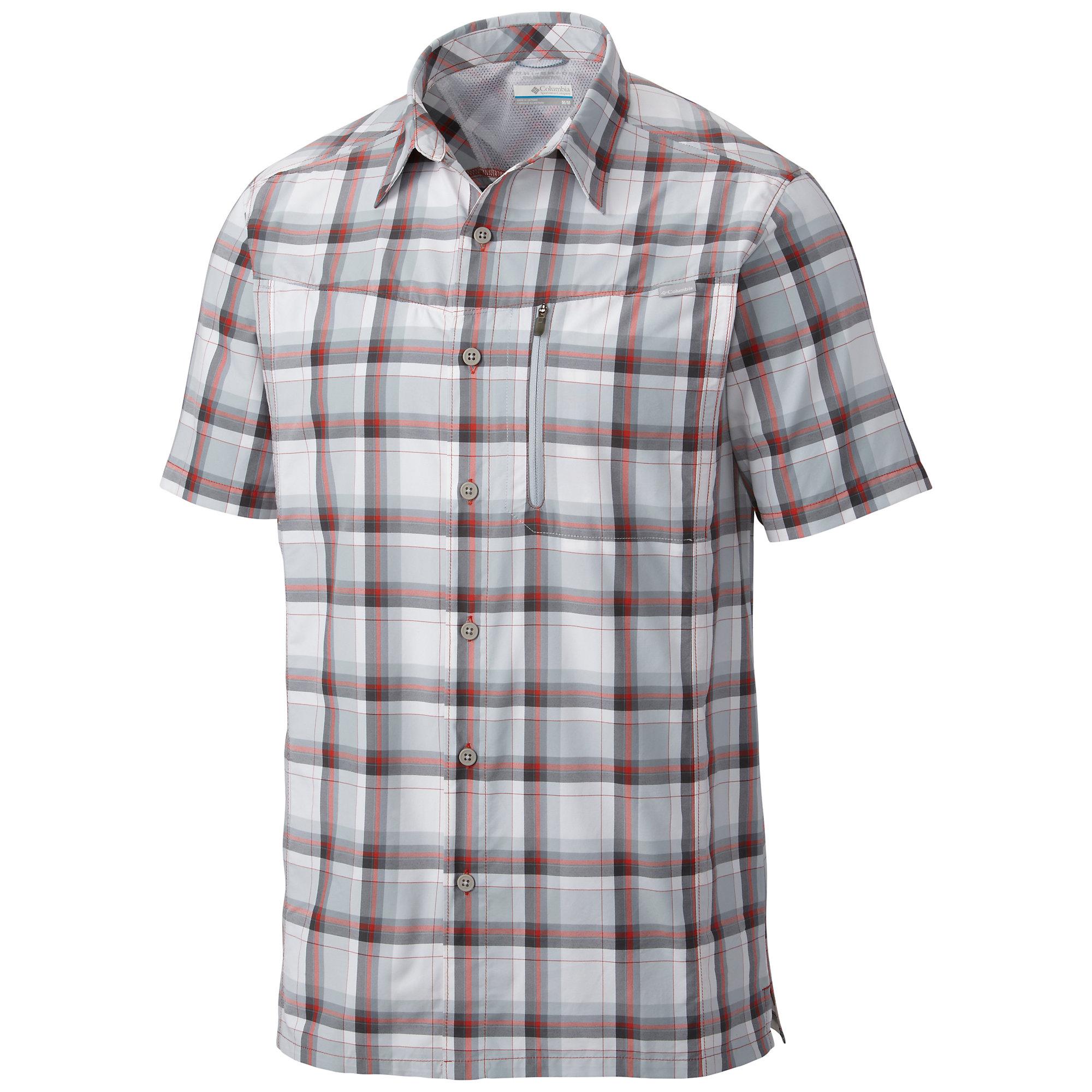 photo: Columbia Men's Silver Ridge Plaid Short Sleeve Shirt hiking shirt