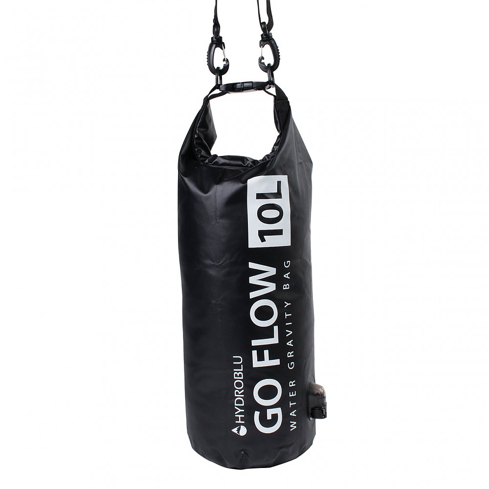photo: HydroBlu Go Flow Water Gravity Bag with Versa Flow Water Filter pump/gravity water filter