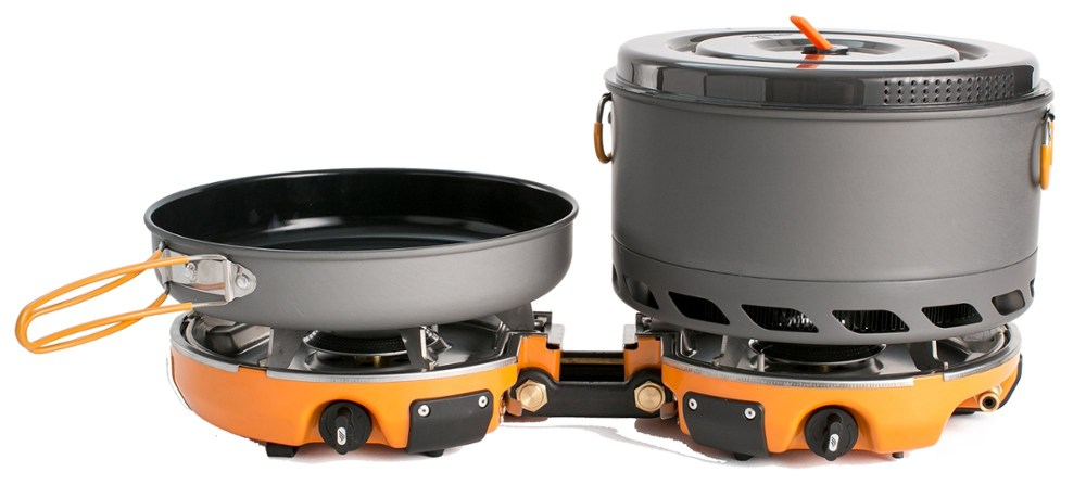 photo: Jetboil Genesis Basecamp System camp stove