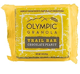 photo: Olympia Granola Chocolate Peanut Trail Bar bar