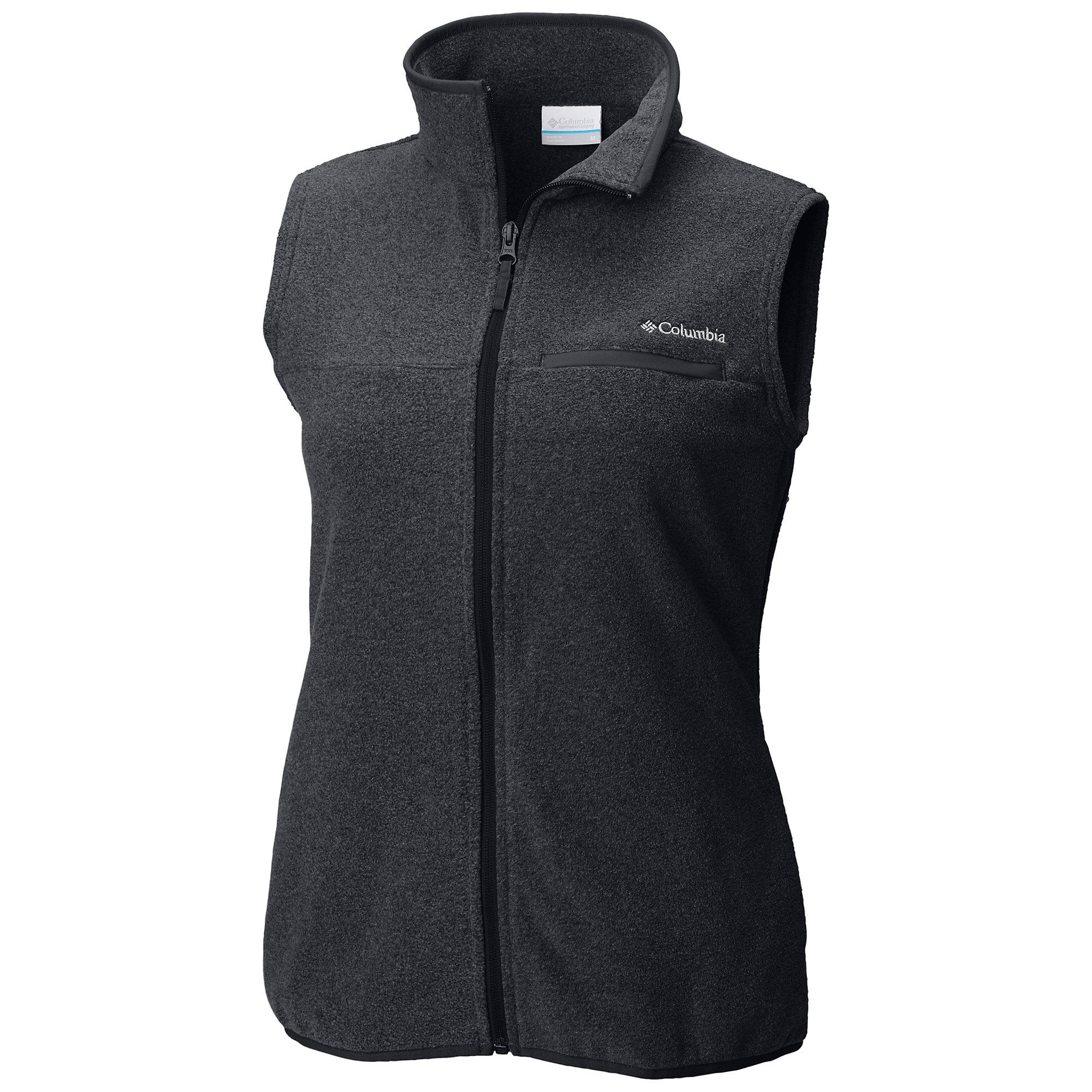 photo: Columbia Mountain Crest Vest fleece vest