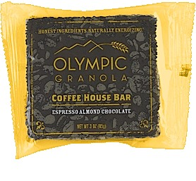Olympia Granola Espresso Almond Chocolate Coffee House Bar