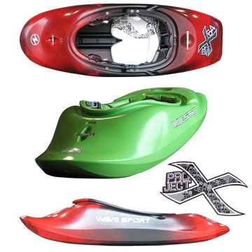 photo: Wave Sport Project X whitewater kayak