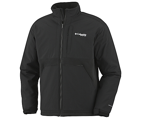photo: Columbia Squall Line Fleece Omni-Heat fleece jacket