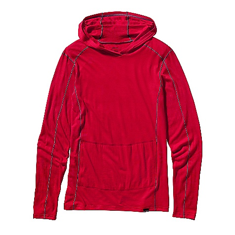 photo: Patagonia Lightweight Merino Hoody long sleeve performance top