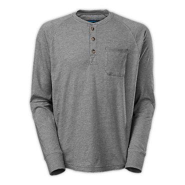 photo: The North Face Long-Sleeve Seward Henley hiking shirt