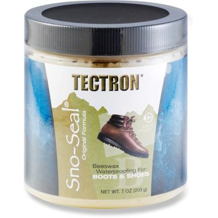 photo: Tectron Sno-Seal Waterproofing footwear cleaner/treatment