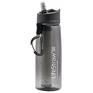photo of a LifeStraw bottle/inline water filter