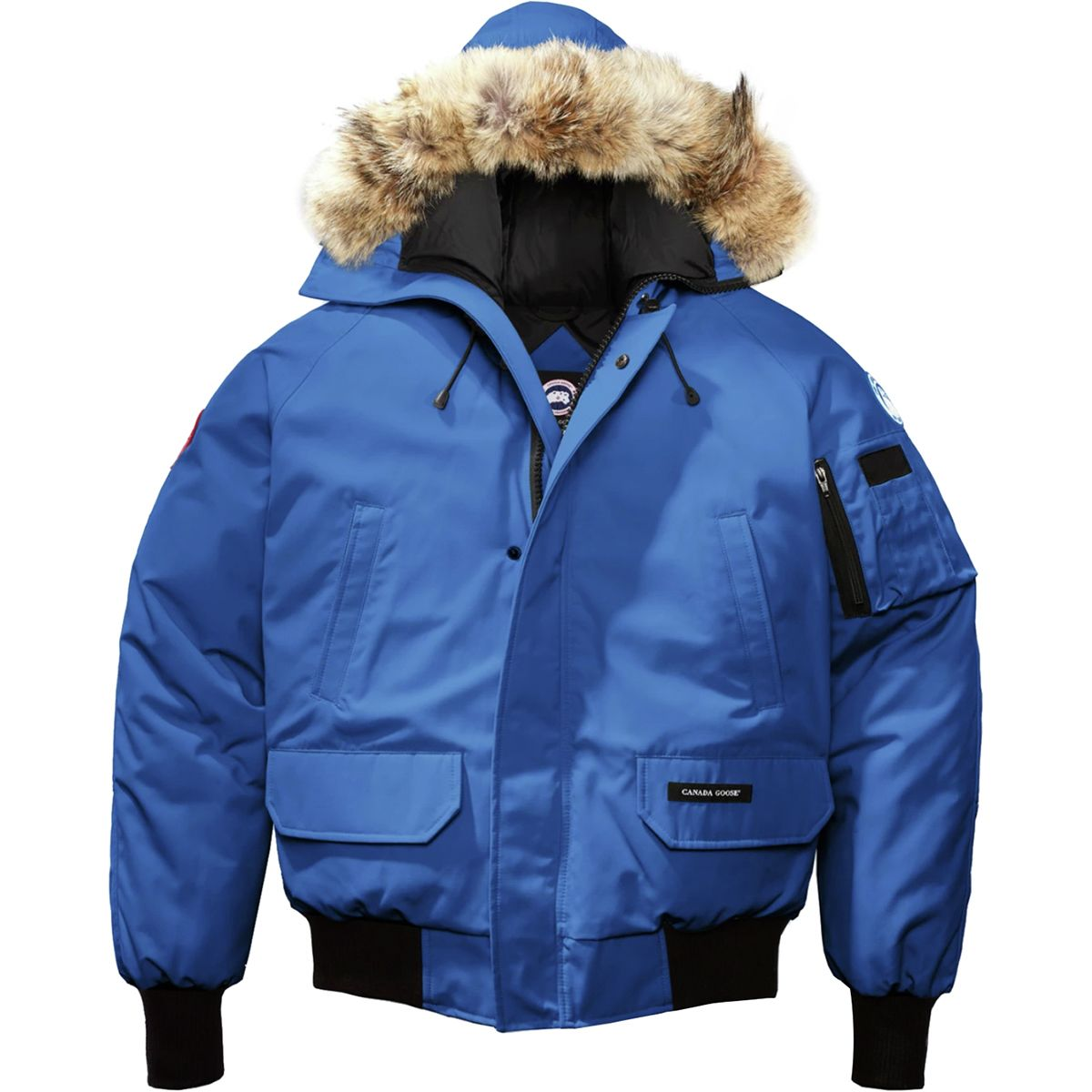 photo: Canada Goose Men's Chilliwack Bomber down insulated jacket