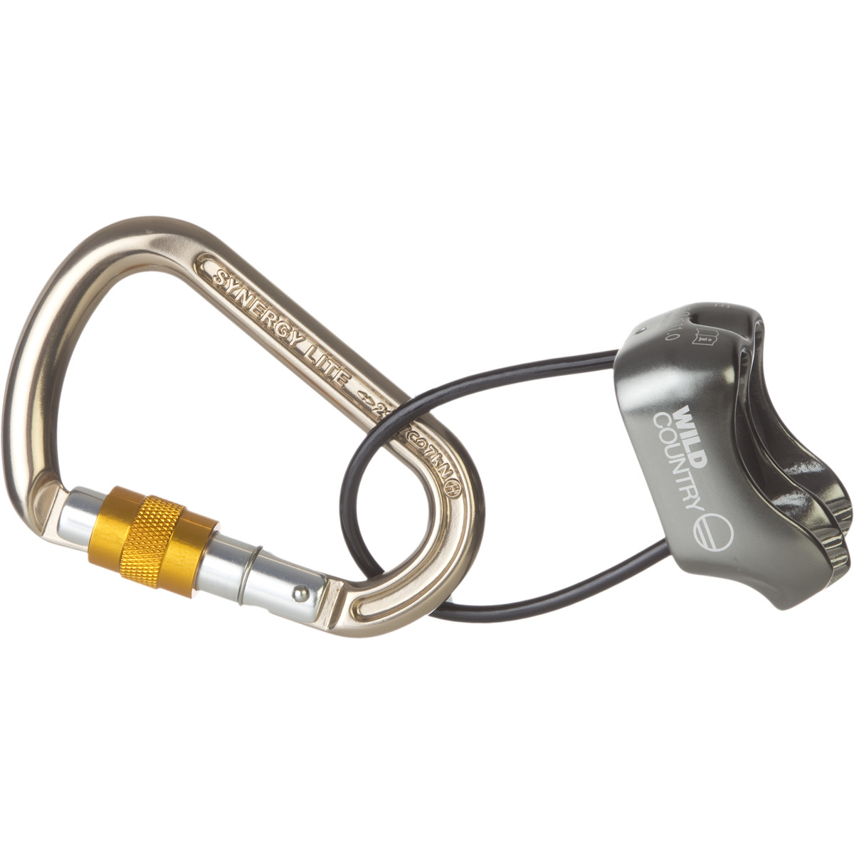 photo: Wild Country VC Pro 2 & Synergy SG Belay Package belay/rappel device