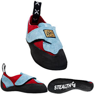 photo: Five Ten Kids Velcro climbing shoe
