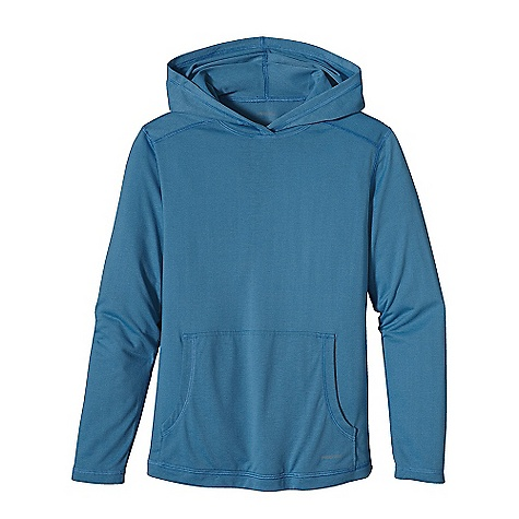 photo: Patagonia Boys' Polarized Hoody long sleeve performance top