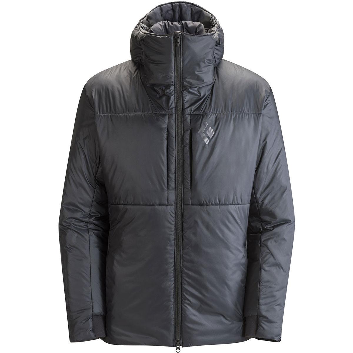 photo: Black Diamond Stance Belay Parka synthetic insulated jacket