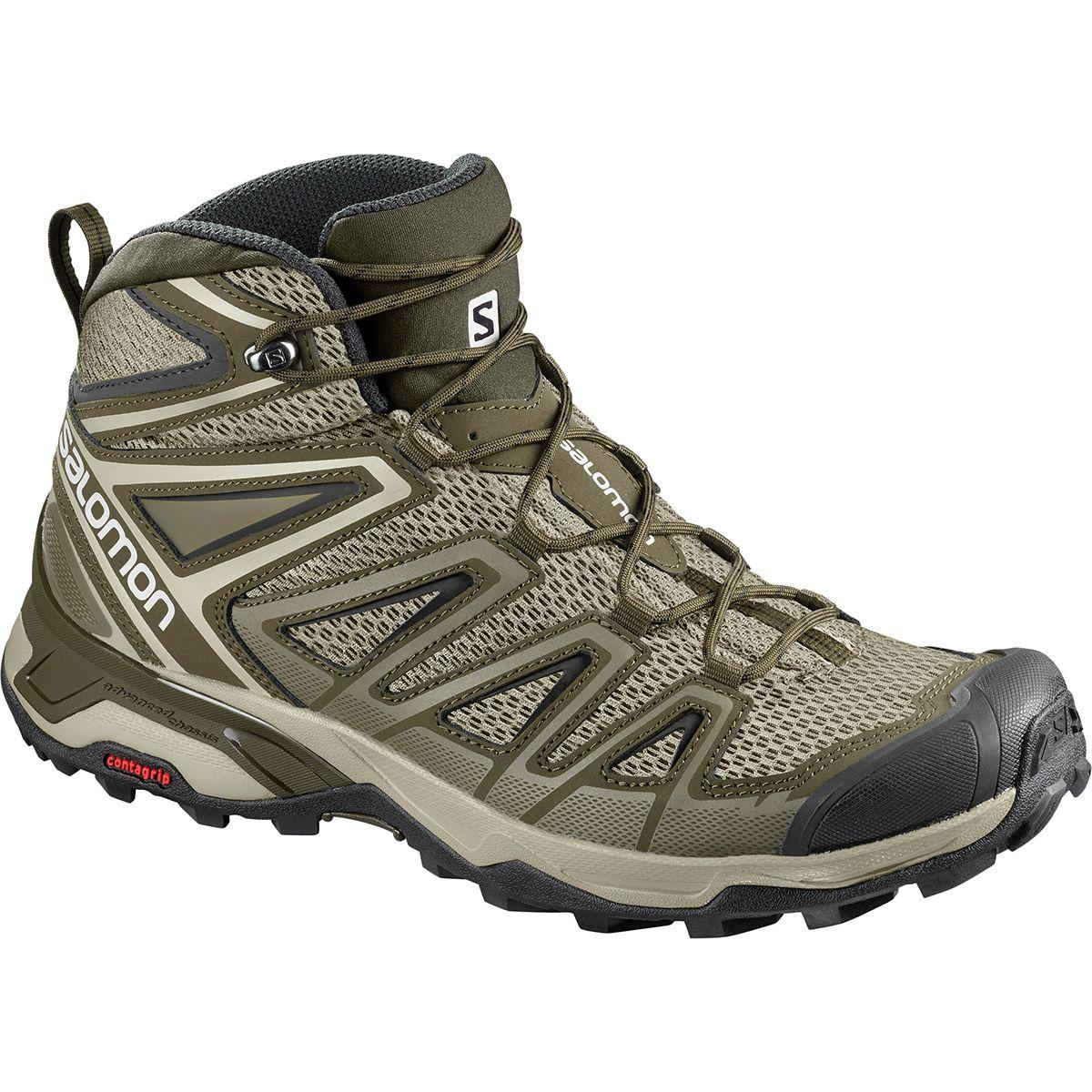photo: Salomon Men's X Ultra Mid 3 Aero hiking boot