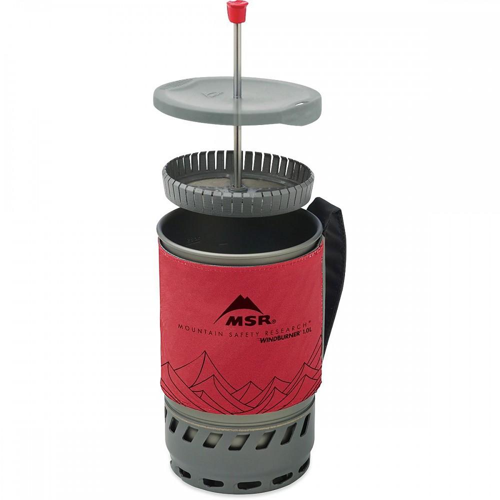 photo: MSR WindBurner Coffee Press Kit coffee press/filter