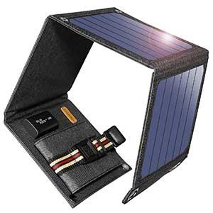 photo: Suaoki SunPower 14W Solar Charger solar panel